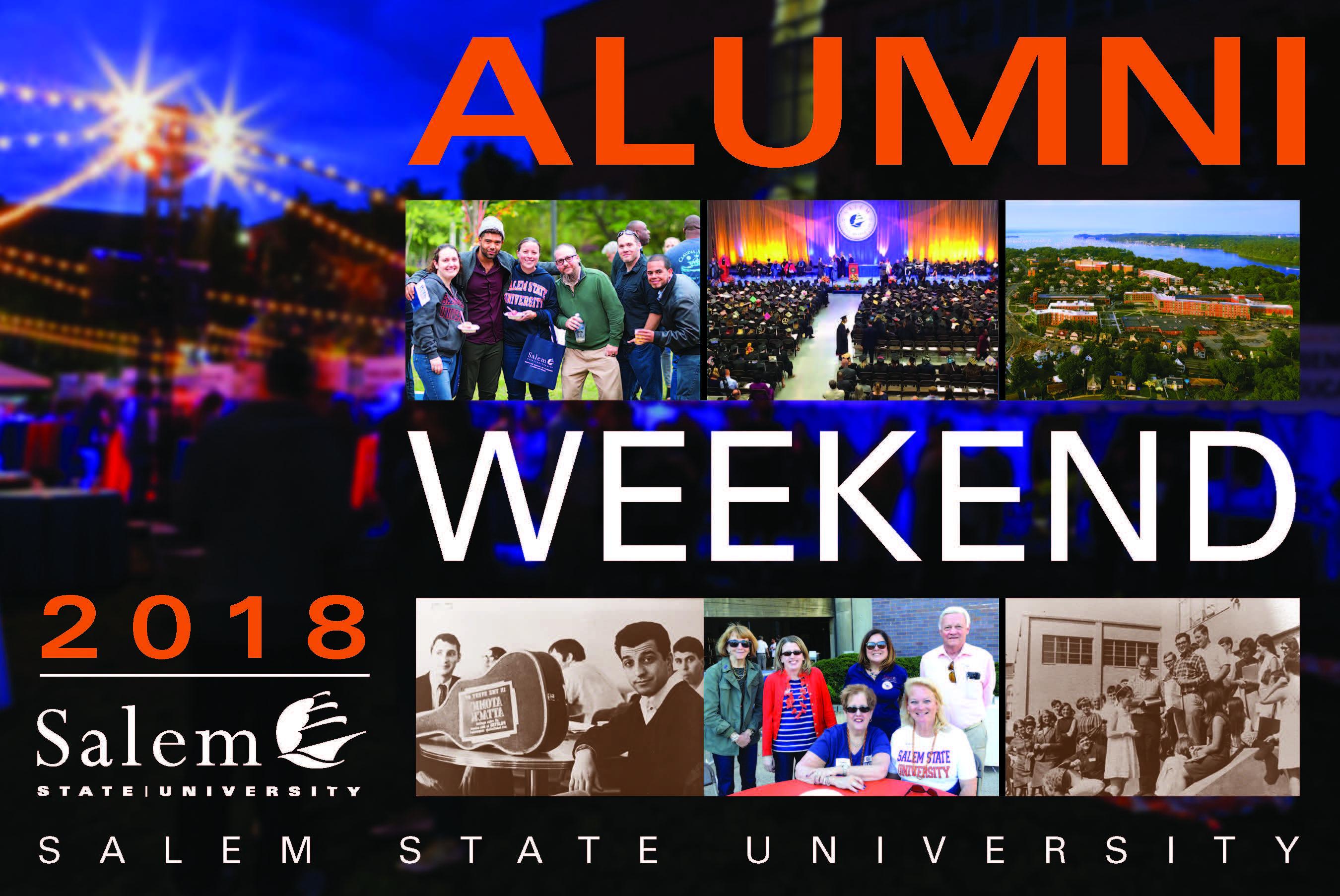 Alumni Weekend Brochure Cover 2018