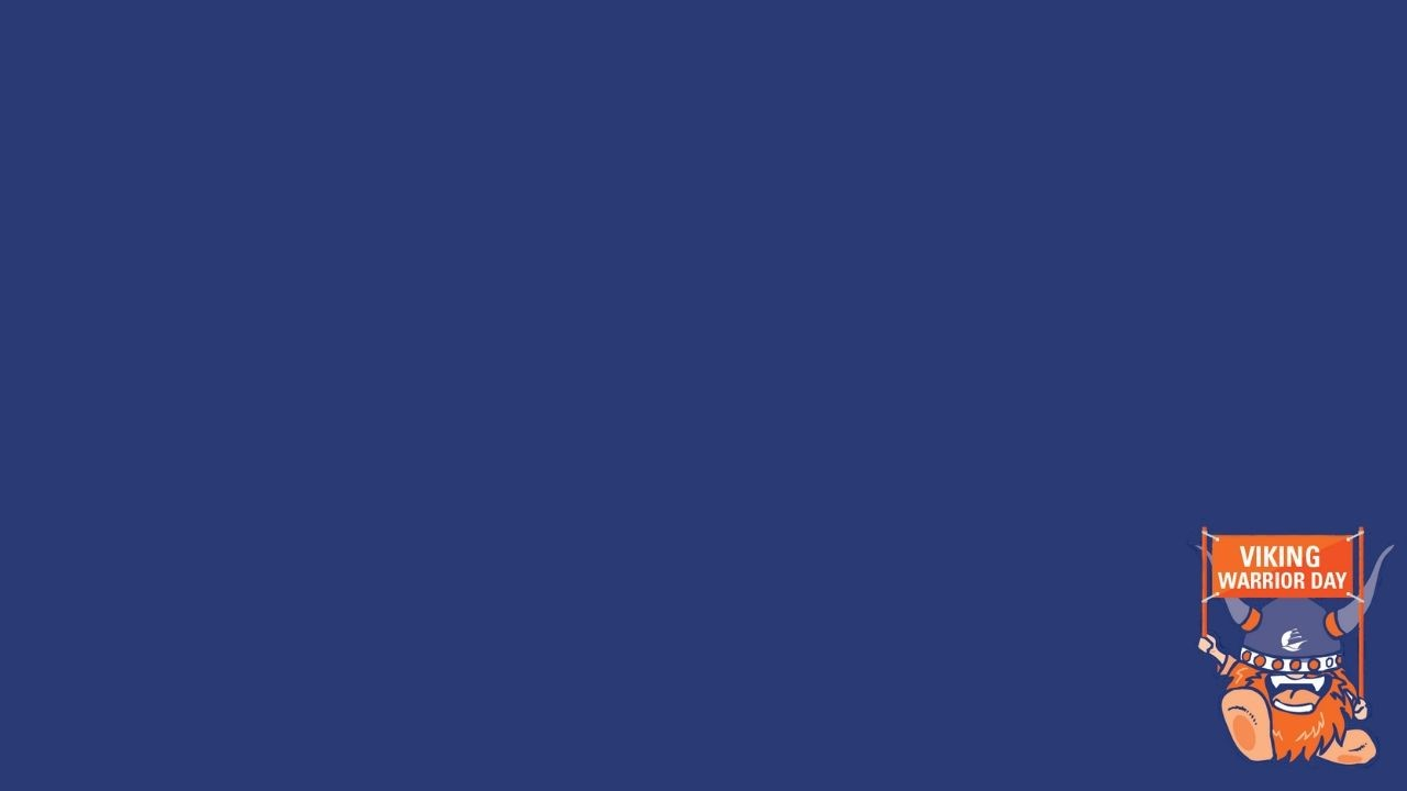 Blue background for Zoom with VWD logo